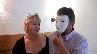 French mature anal, DP