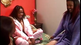 Black Girls Fuck Each Other At Sleepover