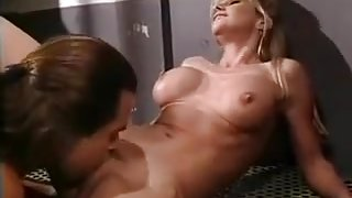 Hot babe fucks fabio in prison
