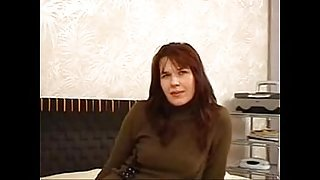 Lana (40 years old) russian milf in Mom&#039_s Casting