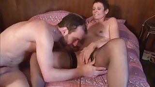 French Milf Cheats To Fuck Mechanic