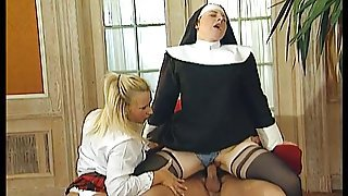 A Nun A Priest And A Schoolgirl