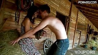 roxy taggart fucked in barn by farmer