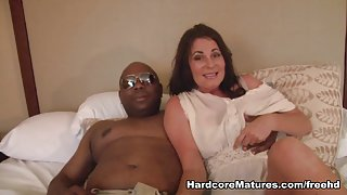 Bella in Mature Hardcore Video