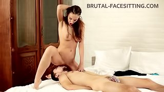Brutal-Facesitting - Hazel Dew