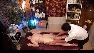 Slimming Massage for Busty Japanese Wives - 3