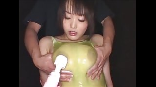 Busty asian threesome