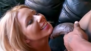 Long African Cock Giving Ashley Winters an Interracial Banging