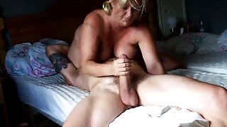 Heavy mature trailer fucked
