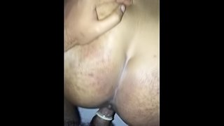 THICC AUNTY GETS RAILED